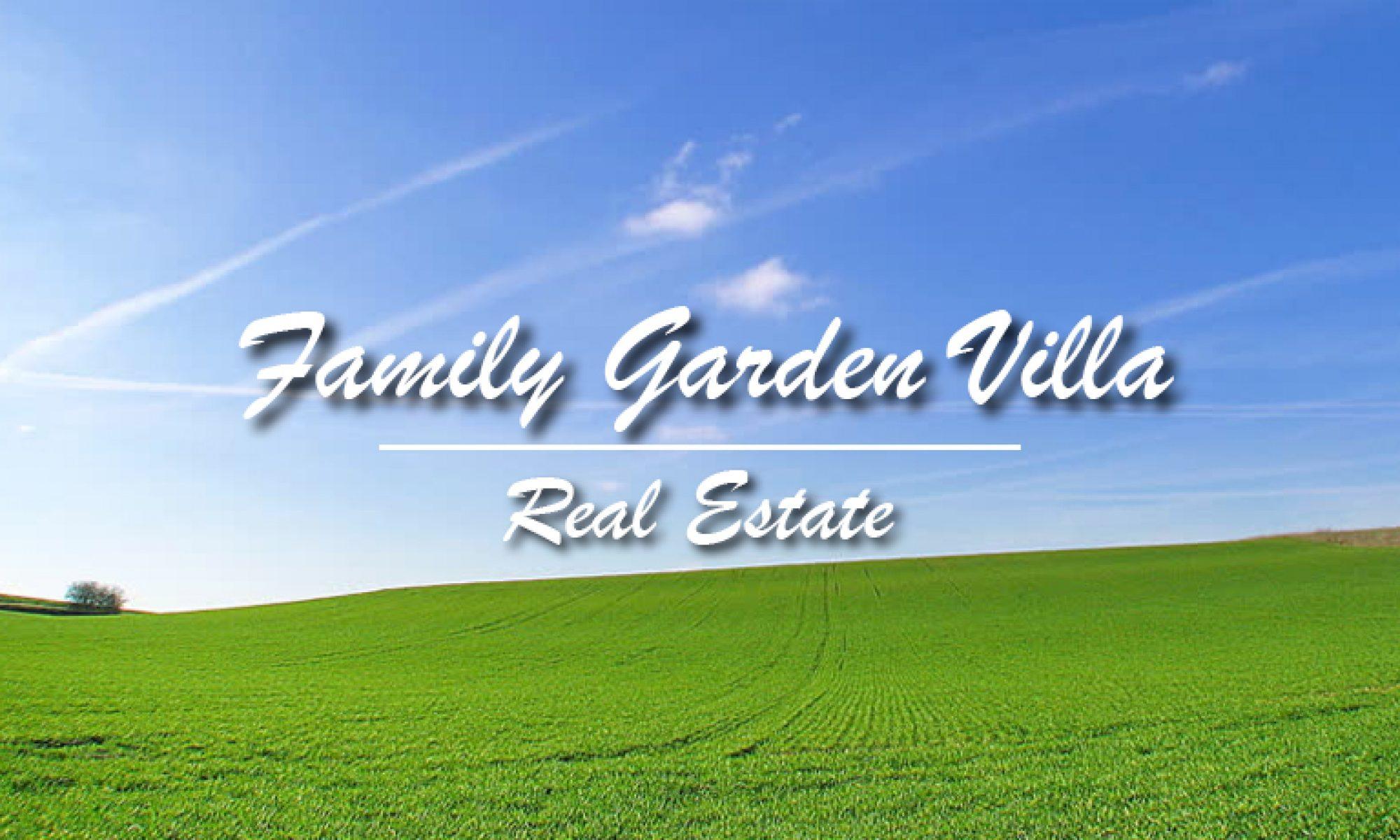 Family Garden Villa - Real Estate